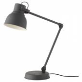 ХЕКТАР Лампа/устройств д/беспровод зарядки,темно-серый